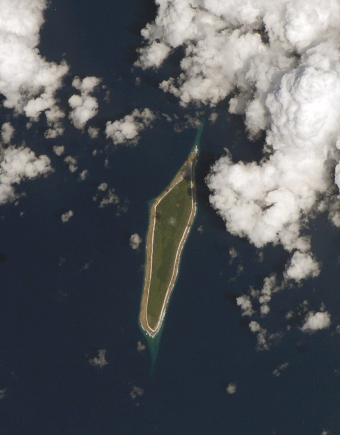 Photo of Flint Island, Kiribati